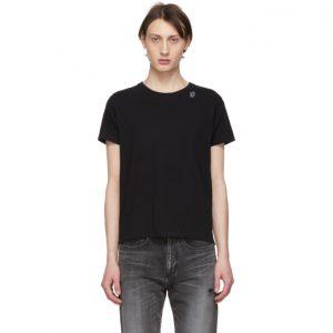 Saint Laurent Black Robot T-Shirt
