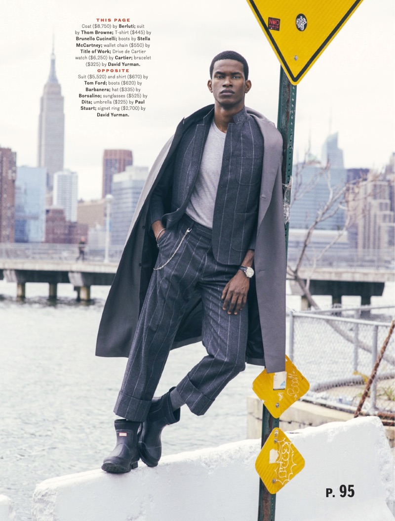Scene Stealer: Salomon Diaz for Esquire
