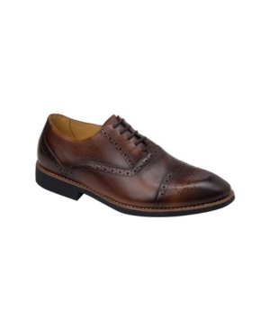 Sandro Moscoloni Cap Toe 5 Eyelet Oxford Men's Shoes