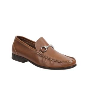Sandro Moscoloni Moc Toe Ornament Strap Slip-On Men's Shoes