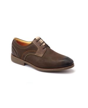Sandro Moscoloni Plain Toe 3 Eyelet Oxford Men's Shoes