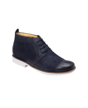 Sandro Moscoloni Plain Toe 4 Eyelet Demi Boot Men's Shoes