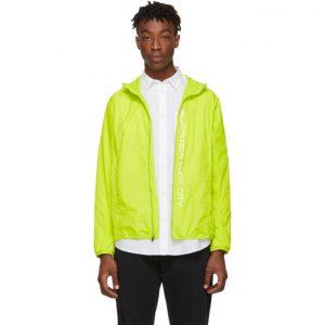 Saturdays NYC Green Packable Tatsu Windbreaker Jacket