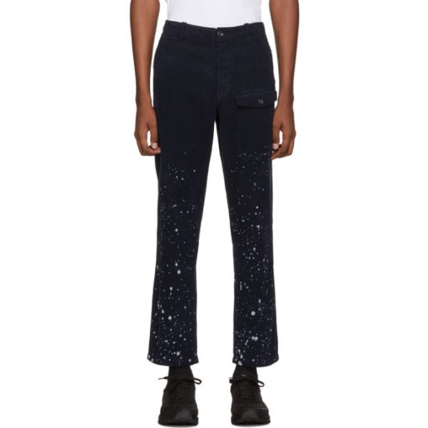 Saturdays NYC Navy Cord Coney Trousers