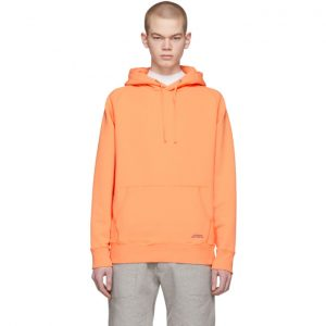 Saturdays NYC Orange Ditch Hoodie