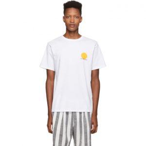 Saturdays NYC White Sun T-Shirt