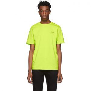 Saturdays NYC Yellow Gotham Chest Logo T-Shirt