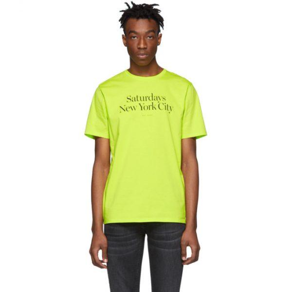 Saturdays NYC Yellow Miller Standard T-Shirt
