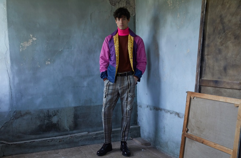 Front and center, Nicolas Ripoll wears a look from Scotch & Soda.