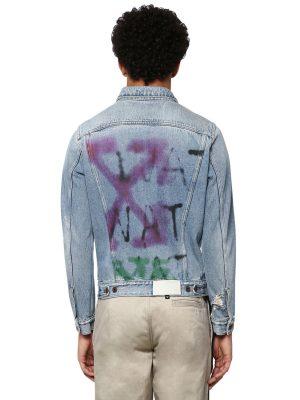 Slim Cotton Denim Jacket