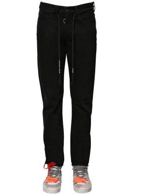 Slim Cotton Denim Jeans