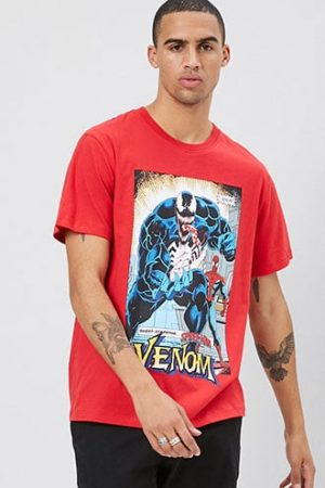 Spiderman Graphic Tee at Forever 21 , Red/multi