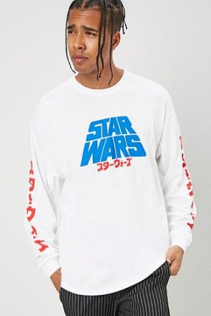 Star Wars Graphic Tee at Forever 21 , White/multi