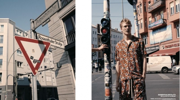 Sven de Vries is a 'Berliner' for Arena Homme+ Korea