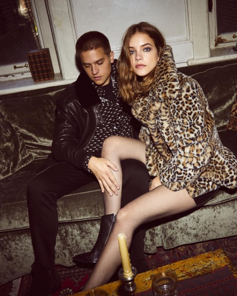 The Kooples tap Dylan Sprouse and Barbara Palvin as the stars of its fall-winter 2019 campaign.
