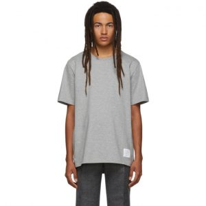 Thom Browne Grey Relaxed Fit T-Shirt