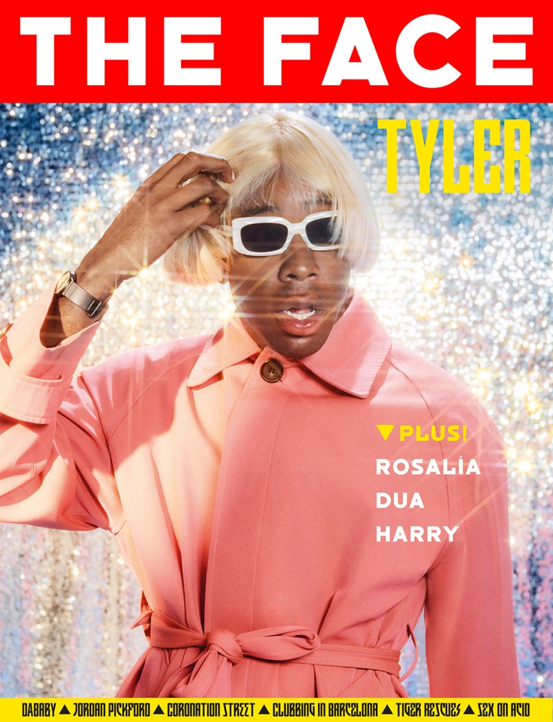 Tyler the Creator covers The Face.