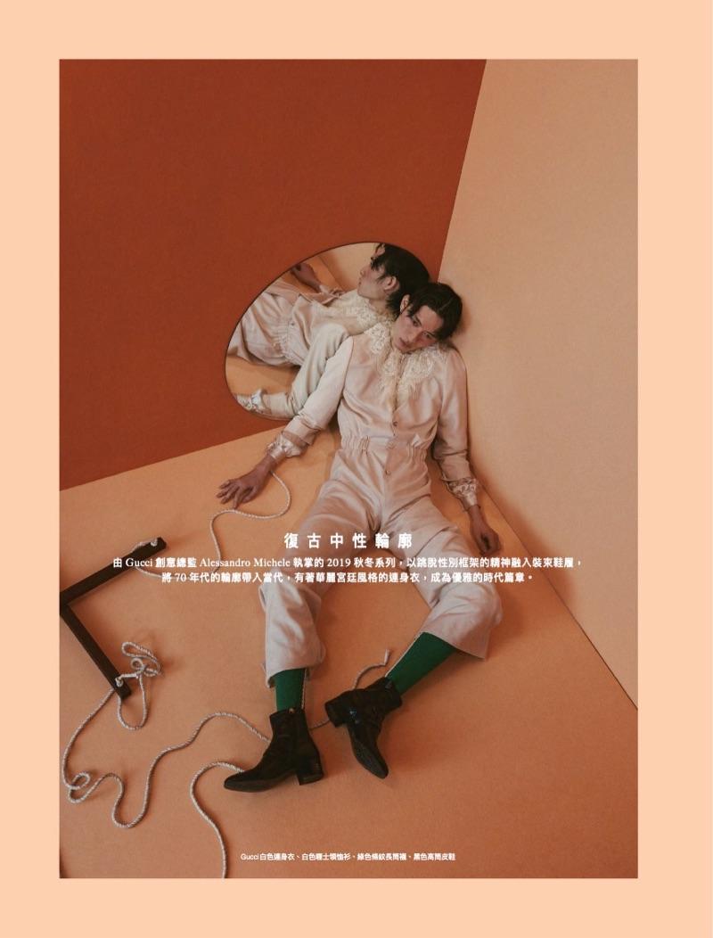 Zachary Chou is 'Pinocchio' for Men's Uno Hong Kong