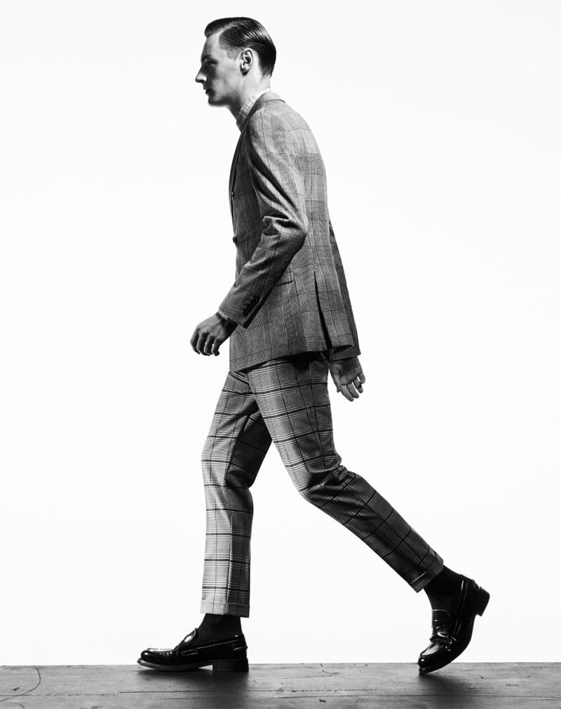 Roberto Sipos 2019 Zara Bold Checks Editorial The