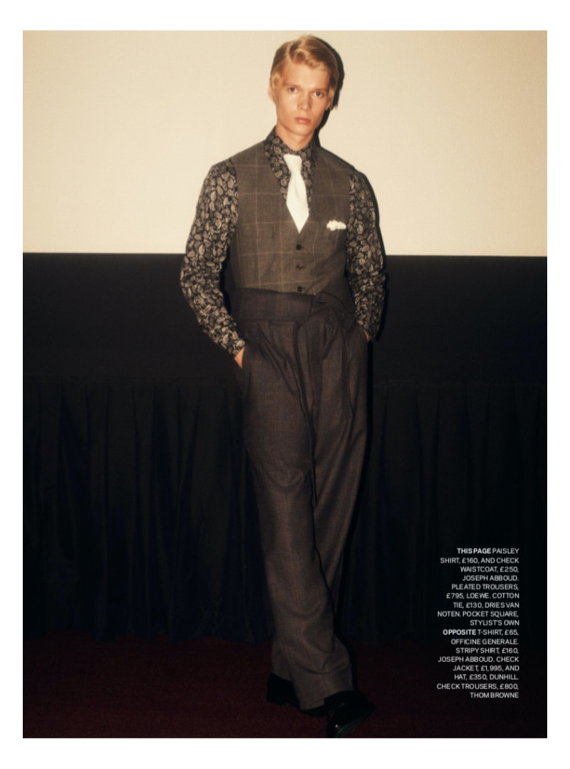 New Wave: Aaron Sirainen Channels Bowie for Sunday Times Style Magazine