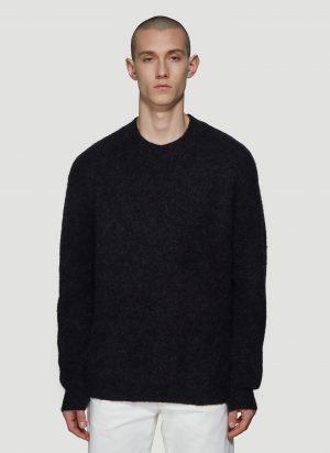 Acne Studios Classic Crewneck Sweater in Black size XL