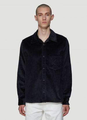 Acne Studios Corduroy Shirt Blue size IT - 48