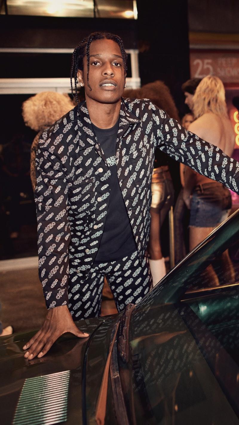A$AP Rocky fronts Calvin Klein's CK50 campaign.