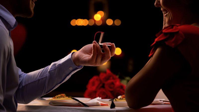 Dinner Wedding Proposal