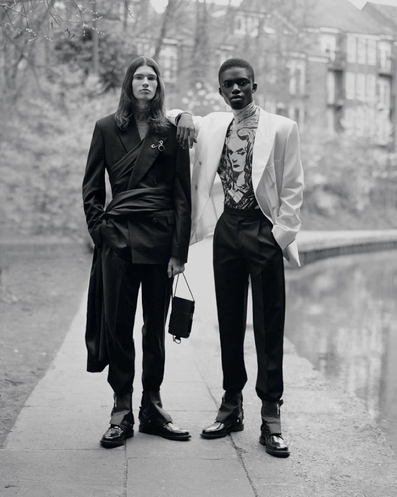 Walk on the Wild Side: Jeremiah, Louis & Lukas for Dior Magazine