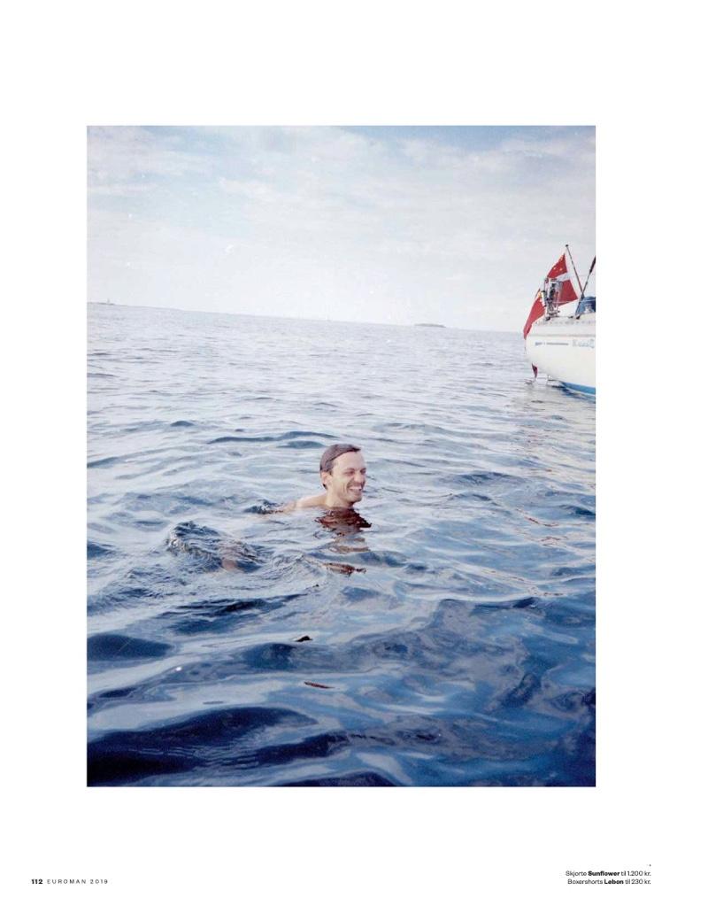 Eddie Klint Goes Sailing with Euroman