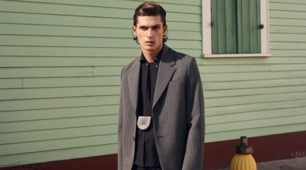 Walk the Line: Edoardo Sebastianelli for MatchesFashion