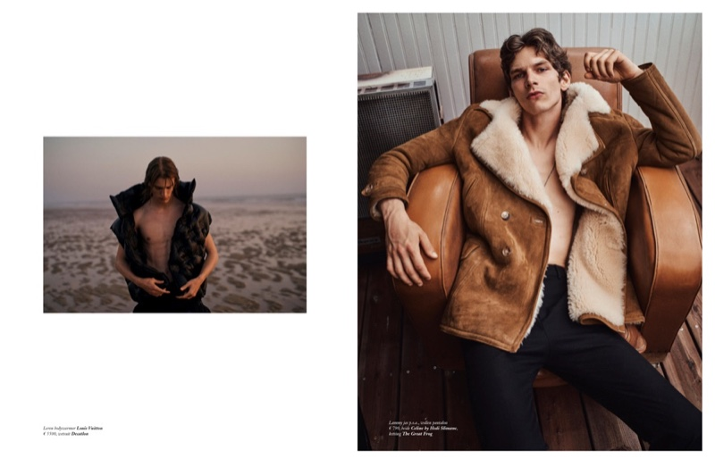 The Great Cover Up: Erik & Martijn for Vogue Netherlands Man