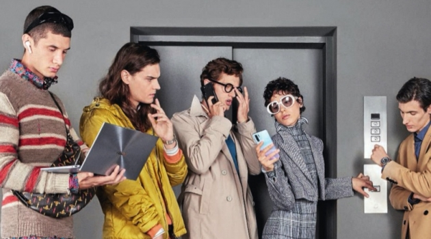 Riccardo, Leo + More Are 'Working Class' for Esquire Italia