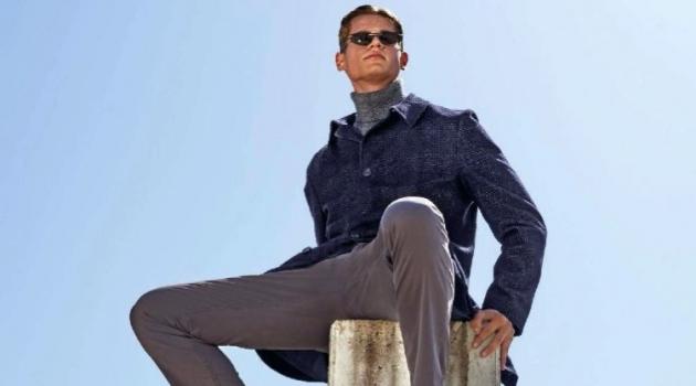 Fabian Stadler Sports Fall Tailoring for InStyle Men Germany