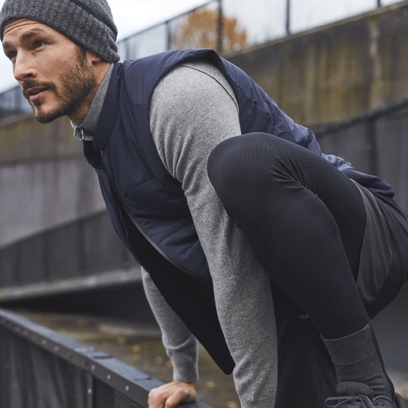 Parker Gregory Reunites with Falke Sport for Fall '19 Collection