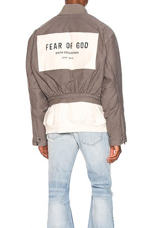 Fear of God 6th Collection Bomber Jacket in Grey