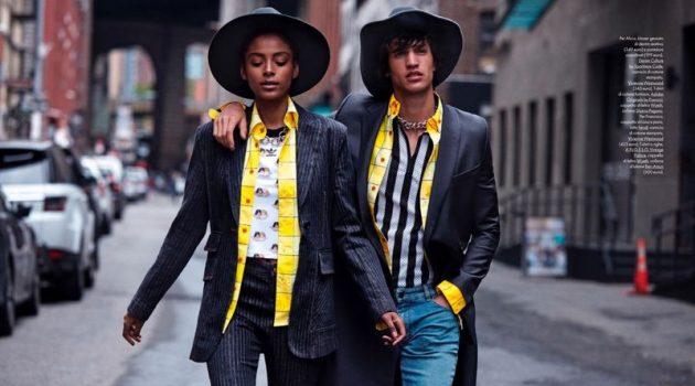 Love Story: Francisco & Alécia for Elle Italia