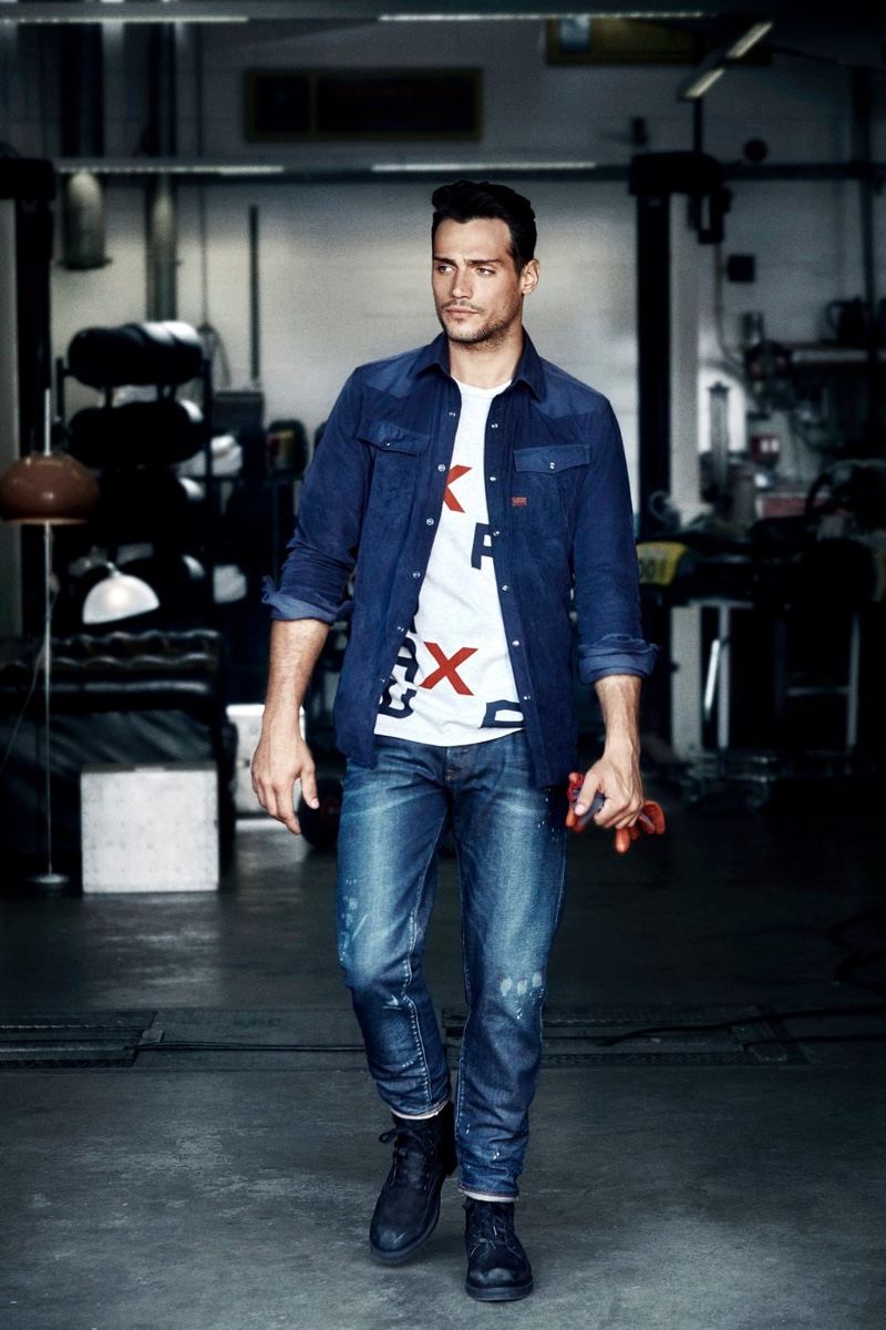 G-Star Raw enlists Richard Deiss as the face of its Tomorrow's Classics campaign.