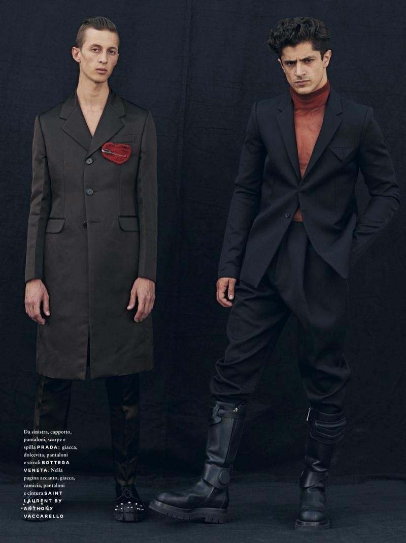 The New Classic: Jean & Cyrus for GQ Italia
