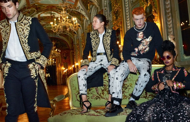 H&M enlists Luka Isaac, Clara 3000, Cameron Monaghan, and H.E.R. to appear in its Giambattista Valli campaign.