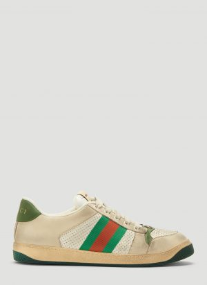 Gucci Dirty Screener GG Sneakers in White size UK - 11