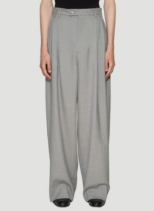 Gucci Wide Leg Pants in Grey size IT - 48