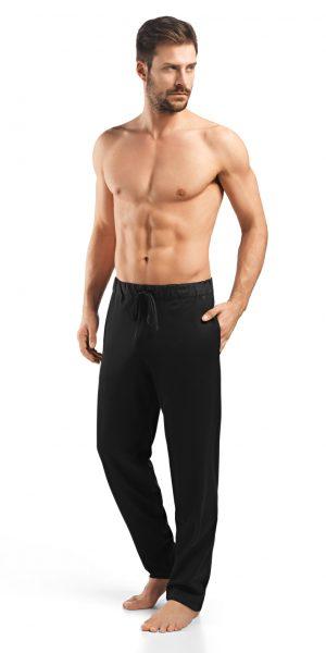 HANRO Night & Day Knit Lounge Pant - Black M - 75435
