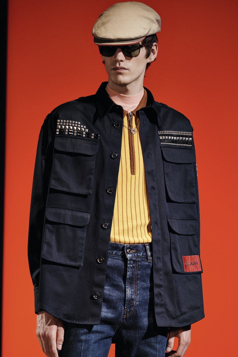 HUGO Plays with Shapes for Spring '20 Editorial Collection