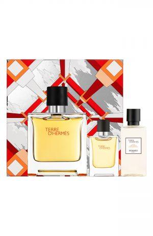 Hermes Terre D'Hermes Pure Perfume Set ($181 Value)