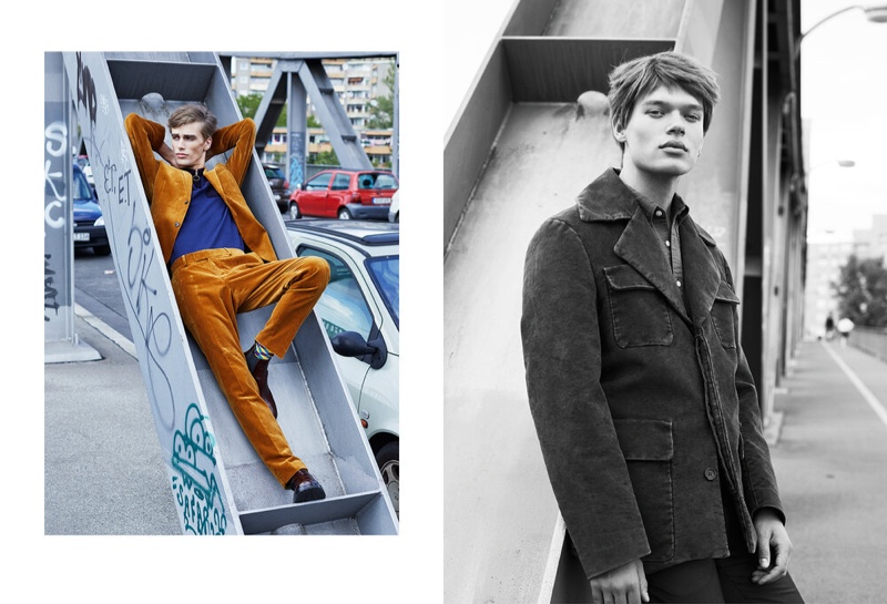 Marc & Lukas Brush Up on Smart Fall Style for L'Officiel Hommes Levant