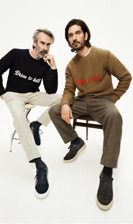 Jonas, Miguel & Jonathan Go Dandy for Lardini Fall '19 Campaign