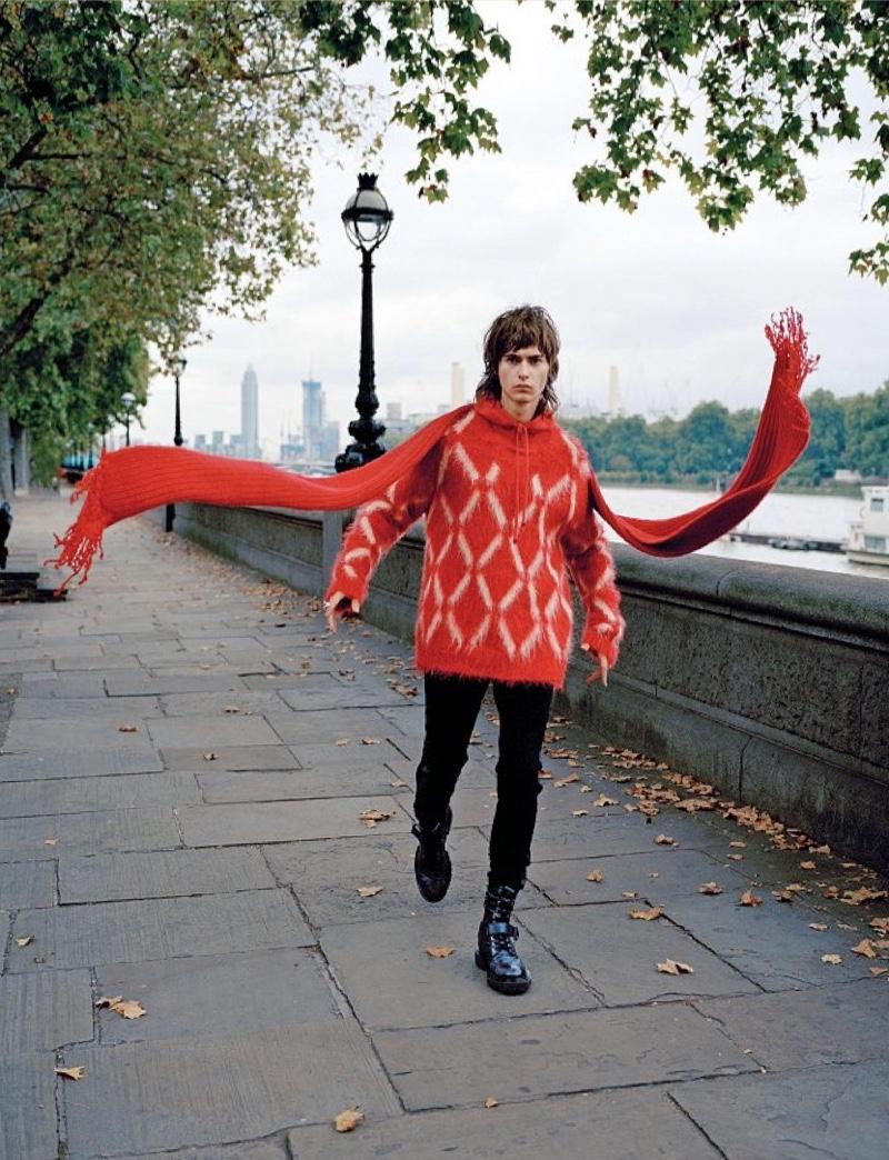 London Portrait: Louis Marzin for Corriere della Sera Style