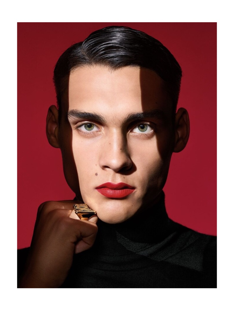 Richard Burbridge photographs Ludwig Wilsdorff for Dior Magazine.