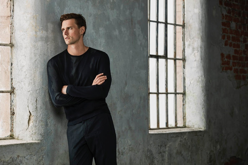 Guy Robinson connects with Lufian as the face of its fall-winter 2019 collection.